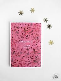 Christmas Notecard Merry Christmas Flower Card Christmas Notecard Greetings Card