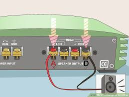 how to bridge an amplifier 7 steps pictures wikihow image titled bridge an amplifier step 3