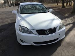 lexus is 250 2007 white. 2007 lexus is 250 awd piscataway is white