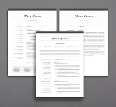 Page Resumete Two Word Modern Free Attractive 2 Resume Template