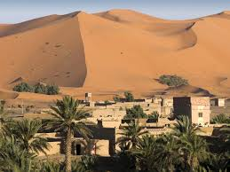 house in the sahara desert
