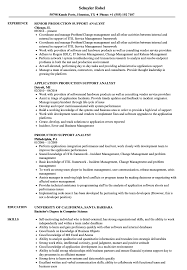 Sample Resume For Production Support Analyst Production Support Analyst Resume Samples Velvet Jobs 1