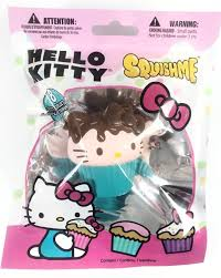 Hello Kitty Mini Squish Me Cupcake Jenna Lyn Squishies And