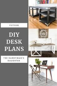Image Corner Desk 15 Diy Desk Plans The Handymans Daughter 15 Diy Desk Plans To Build For Your Home Office The Handymans