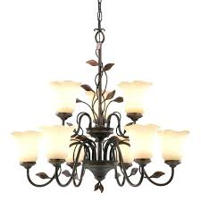 allen and roth chandelier 5 7 light bronze beautiful for 18