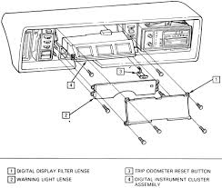 repair guides instruments and switches instrument cluster instrument cluster installation 1990 91 eldorado and seville