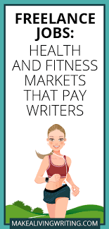lance jobs health and fitness markets that pay writers