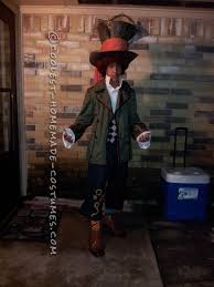 coolest homemade mad hatter costume on a budget