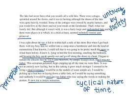 eb white essay once more to the lake e b white s drafts of once  hd image of showme e b white once more to the lake annotation second passage