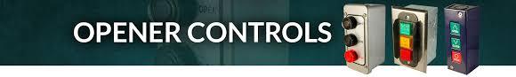 commercial garage door opener controls