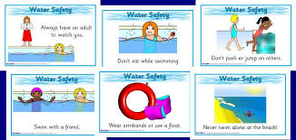 Water Safety Posters Sb2474 Sparklebox Water Safety