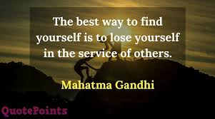 Top Community Service Quote On Internet Best Collection QuotePoints Adorable Quotes About Community