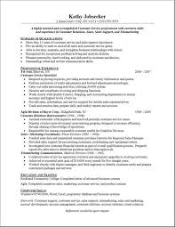 Simple Job Resume Outline Resume Samples For Customer Service Fresh Free Customer Service