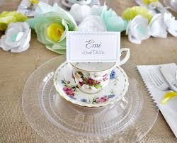 Decorating With Teacups And Saucers Tea Party Decorations To Jumpstart Your Planning 51