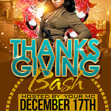 thanksgiving party flyer scorpiosgraphx thanksgiving party flyer template