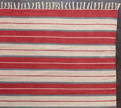 july stripe cotton dhurrie rug traditional novelty red striped rugs uk