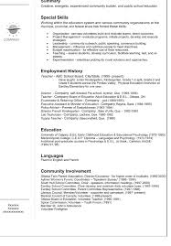 Resume Look Resume Ideas