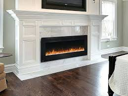 best wall mounted fireplace the best wall mount electric fireplace ideas on with regard to flush