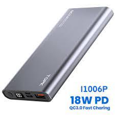 Pin Dự Phòng TOPK I1007P 20W PD QC3.0 10000mAh Sạc Nhanh Hiển Thị Điện Tử