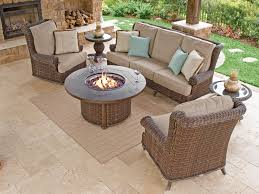 Popular of Patio Furniture With Fire Pit Table Calypso Resin