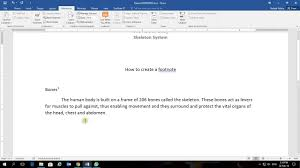 Ms Word Adding And Removing A Footnote