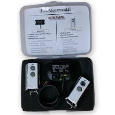 garage door receiverGarage Door Opener Remote Control MiniReceiver Kit 433 MHz