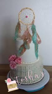 Dream Catcher Baby Shower Cake Dreamcatcher Cake CakeCentral 50