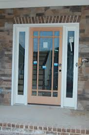 single glass front doors. Fascinating Front Porch Decoration With Full Glass Entry Doors : Enchanting Image Of Design Single D