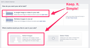 Made Guide Simple Facebook A by Advertising step Step 507qT