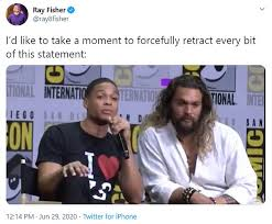 Ray fisher says warner bros. Justice League Actor Ray Fisher Slams Director Joss Whedon For Gross Conduct Onset Of 2017 Movie Express Digest