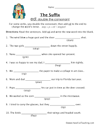 Suffix Worksheets | Have Fun Teaching