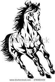 draft horse head silhouette. Exellent Draft Resultado De Imagem Para Draft Horse Head Silhouette To Draft Horse Head Silhouette E