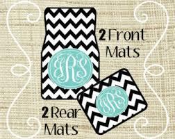 chevron car floor mats. Simple Mats Personalized Car Mats Custom Mat Monogram New  Driver Gift Floor Accessories Sweet 16 Chevron Intended Mats