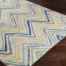zipcode design evangelina blue gray area rug reviews wayfair with yellow and rugs designs 0