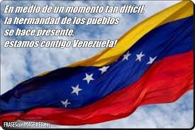 Resultado de imagen para solidaridad con venezuela