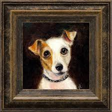 Jack Russell Terrier Dog Art Print, Pet ...