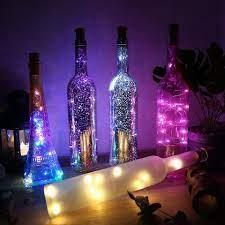 Dây Đèn Led Trang Trí Phòng Ngủ Hình Nút Bần Chai Rượu - Đèn pin