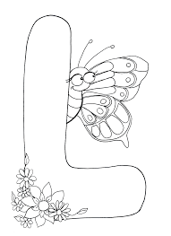 L Coloring Pages