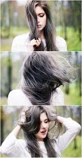 Grey Blue Wisps Dreamy Hair Color