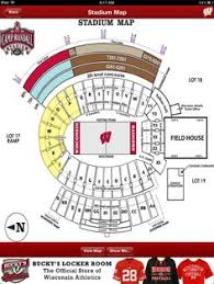 Wisconsin Camp Randall Seating Chart 10 Best Badger Gameday App Images Womens Hockey Badger App