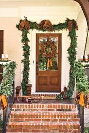 how to hang garland around front doorFront Doors  Door Inspirations Install Garland Around Front Door