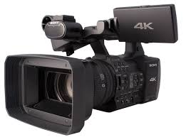 sony 4k camcorder. photo of the sony fdr-ax1 4k camcorder 4k