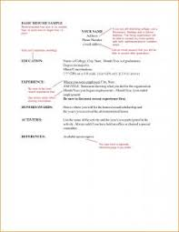 examples of resumes chicago essay outline style sample examples of resumes 9 basic resume examples supplyletterwebsite cover letter word inside basic resume example