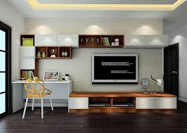 computer desk ideas in living room decor