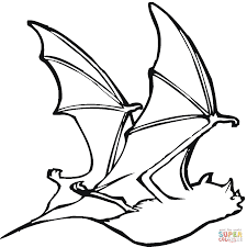 Small Picture Bat 18 coloring page Free Printable Coloring Pages