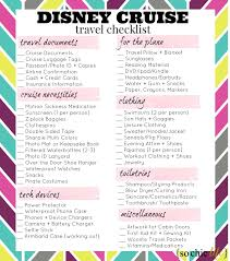Cruise Packing List What To Pack For A Disney Cruise So Chic Life