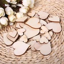 wood crafts suppliers bag blank unfinished wooden heart crafts supplies laser cut rustic wood wedding rings