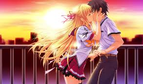 Kissing Anime Wallpapers - Top Free ...