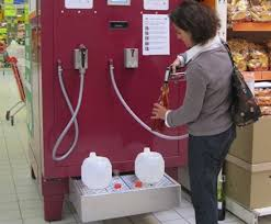 Gas Pump Vending Machine Amazing In France You Can Pump Your Own Wine By The Liter Gas Station