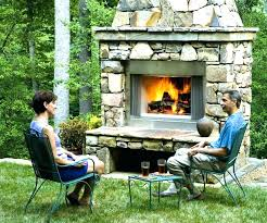 outdoor wood burning fireplace for e prefab kits on gas insert inserts